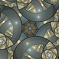 Fractal Art Deco  by Gabiw Art