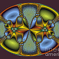 Fractal Art Egg by Darleen Stry