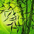 Fractal Bamboo by Lutz Baar