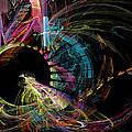 Fractal - Black Hole by Susan Savad