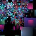 Fractal Confetti by Richard Ortolano