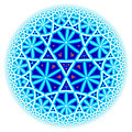Fractal Escheresque Winter Mandala 4 by Hakon Soreide