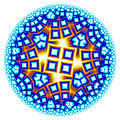Fractal Escheresque Winter Mandala 9 by Hakon Soreide