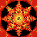 Fractal In The Centre by Gabiw Art