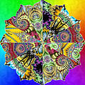 Fractal Lotus Zodiac by Derek Gedney