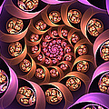 Fractal Multicolored Depth by Gabiw Art