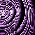 Fractal Purple Swirl by Gabiw Art
