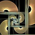 Fractal Semicircles by Gabiw Art