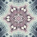 Fractal Snowflake Pattern 1 by Hakon Soreide