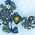 Fractal Tears Of Joy 2 by Gabiw Art