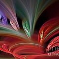 Fractal Vortex Swirl by Brian Raggatt