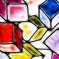Fractalius Cubes by Sharon Lisa Clarke