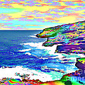 Fractalona Coast by David Friedman