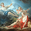 Fragonard's Diana And Endymion by Cora Wandel