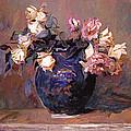 Fragrant Rose Petals by David Lloyd Glover