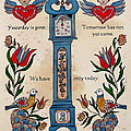 Fraktur Scriften-time by Joan Shaver