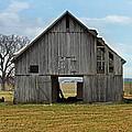 Framed Barn by Steven  Michael