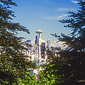 Framed Space Needle by Bob Phillips
