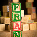 Fran - Alphabet Blocks by Edward Fielding