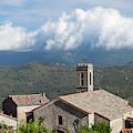 France, Corsica, La Alta Rocca, Quenza by Walter Bibikow