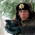 Frances Mcdormand As Marge Gunderson In The Film Fargo By Joel And Ethan Coen by Gabriel T Toro