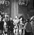 Francis I & Charles V by Granger