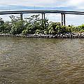 Francis Scott Key Bridge - Pano by Brian Wallace