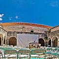 Franciscian Monastery In Hvar Panorama by Brch Photography