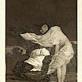 Francisco De Goya Spanish, 1746-1828. Mala Noche. A Bad by Litz Collection
