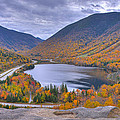Franconia Notch From Artist's Bluff by Ken Stampfer
