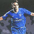 Frank Lampard - Chelsea Fc by Geo Thomson