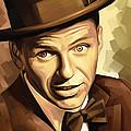 Frank Sinatra Artwork 2 by Sheraz A