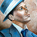 Frank Sinatra Ol Blue Eyes by Patrice Torrillo
