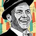 Frank Sinatra Pop Art by Jim Zahniser