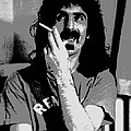 Frank Zappa - Chalk And Charcoal by Joann Vitali