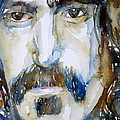 Frank Zappa Watercolor Portrait.2 by Fabrizio Cassetta