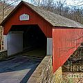 Frankenfield Covered Bridge by Olivier Le Queinec