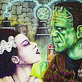 Frankenstein And The Bride by Mike Vanderhoof