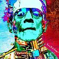 Frankenstein Visits Times Square by Sanuj Birla