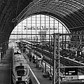 Frankfurt Bahnhof - Train Station by Miguel Winterpacht