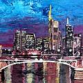 Frankfurt Main Germany - Mainhattan Skyline by M Bleichner