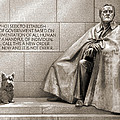Franklin Delano Roosevelt Memorial - Bits And Pieces 7 by Mike McGlothlen