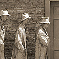 Franklin Delano Roosevelt Memorial - Bits And Pieces1 by Mike McGlothlen