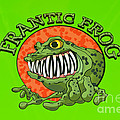 Frantic Frog by George Buxbaum