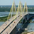 Fred Hartman Bridge Houston by Bill Cobb