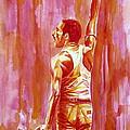 Freddie Mercury Singing Portrait.3 by Fabrizio Cassetta