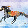 Da114 Free Gallop By Daniel Adams by Daniel Adams