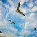 Freedom Impasto by Steve Harrington