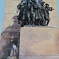 National War Memorial Ottawa Freedom The 24th by Christine Montague