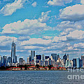 Lower Manhattan by Allen Beatty